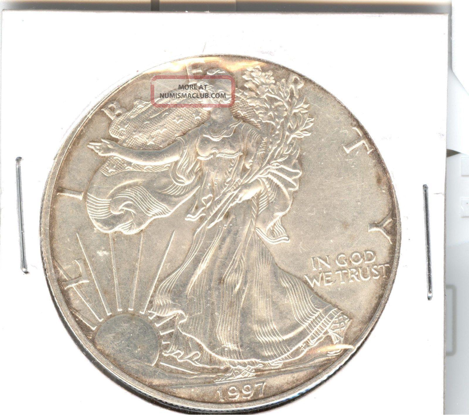 1997 1 Oz Silver Eagle Silver photo
