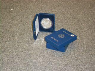 2004 American Eagle One Ounce Proof Silver Bullion Coin photo