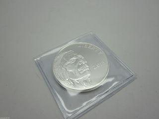 2013 American Indian - Buffalo 1 Troy Oz.  999 Fine Silver Round Prooflike photo