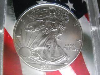 2013 Silver Eagle Brilliant Uncirculated photo