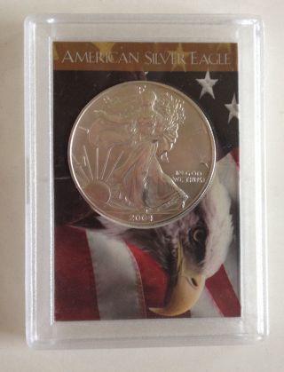 2004 American Silver Eagle photo