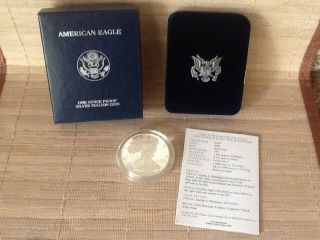 American Eagle One Ounce Silver Proof Coin photo