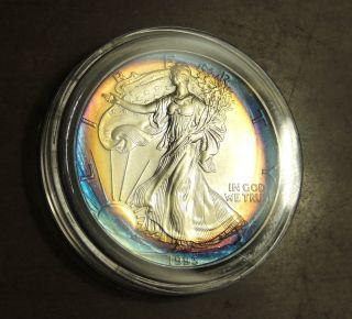 1993 Silver Eagle Toning photo