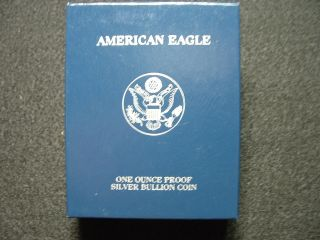 2005 - W Gem Proof American Silver Eagle And Proof photo
