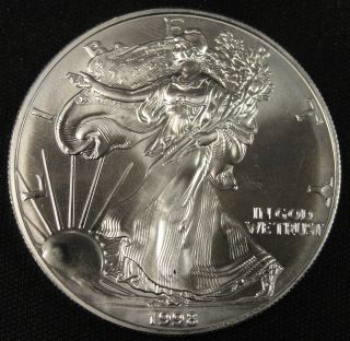 1998 American Silver Eagle Bullion Coin Key Date Uncirculated Nr photo
