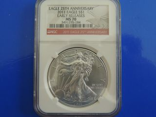 Ms 70 2011 Eagle 25th Anniversary Early Releases Red Label photo