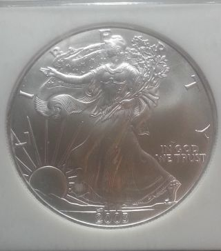 2003 Silver Eagle Ngc Ms69 Mby813 photo