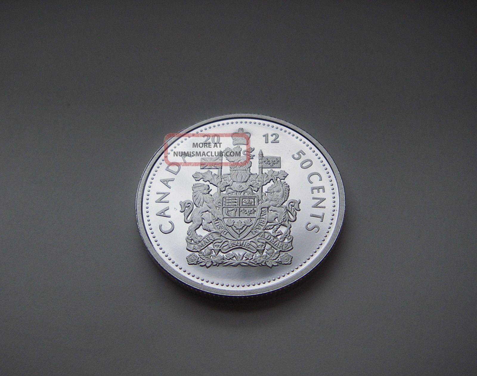 999 Silver Coin Royal Canadian Rare 2012 Canada 50
