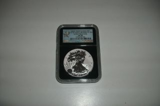 2013 - W Reverse Proof Eagle Ms 70,  Ngc Graded Pf 70,  Early Releases photo