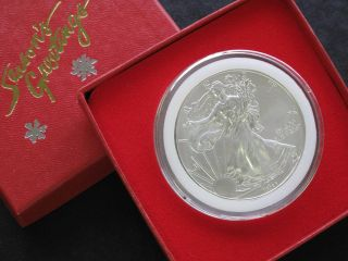 Liberty Walking American Silver Eagle Dollar Choice Of One Coin From 1986 - 2012 photo
