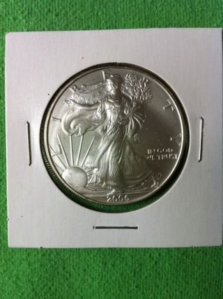 2006 American Eagle Silver Dollar S$1 Ungraded photo