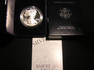1995 - P 1 Ounce Proof American Eagle And C.  O.  A. photo