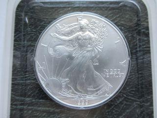 1999 $1silver American Eagle Walking Liberty Dollar Coin Littleton Unciruclated photo