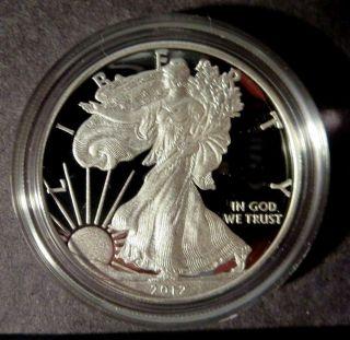 2012 - W (proof) Silver American Eagle photo