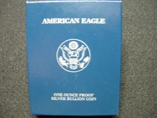2003 - W Gem Proof American Silver Eagle And Proof photo