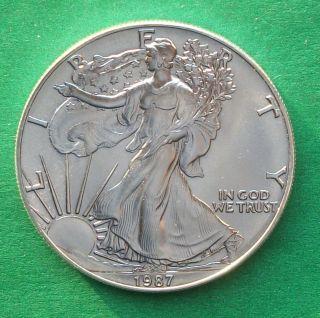 1987 American Silver Eagle photo