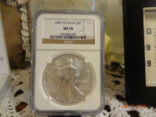2007 Silver Eagle Burnished Ms - 70 photo