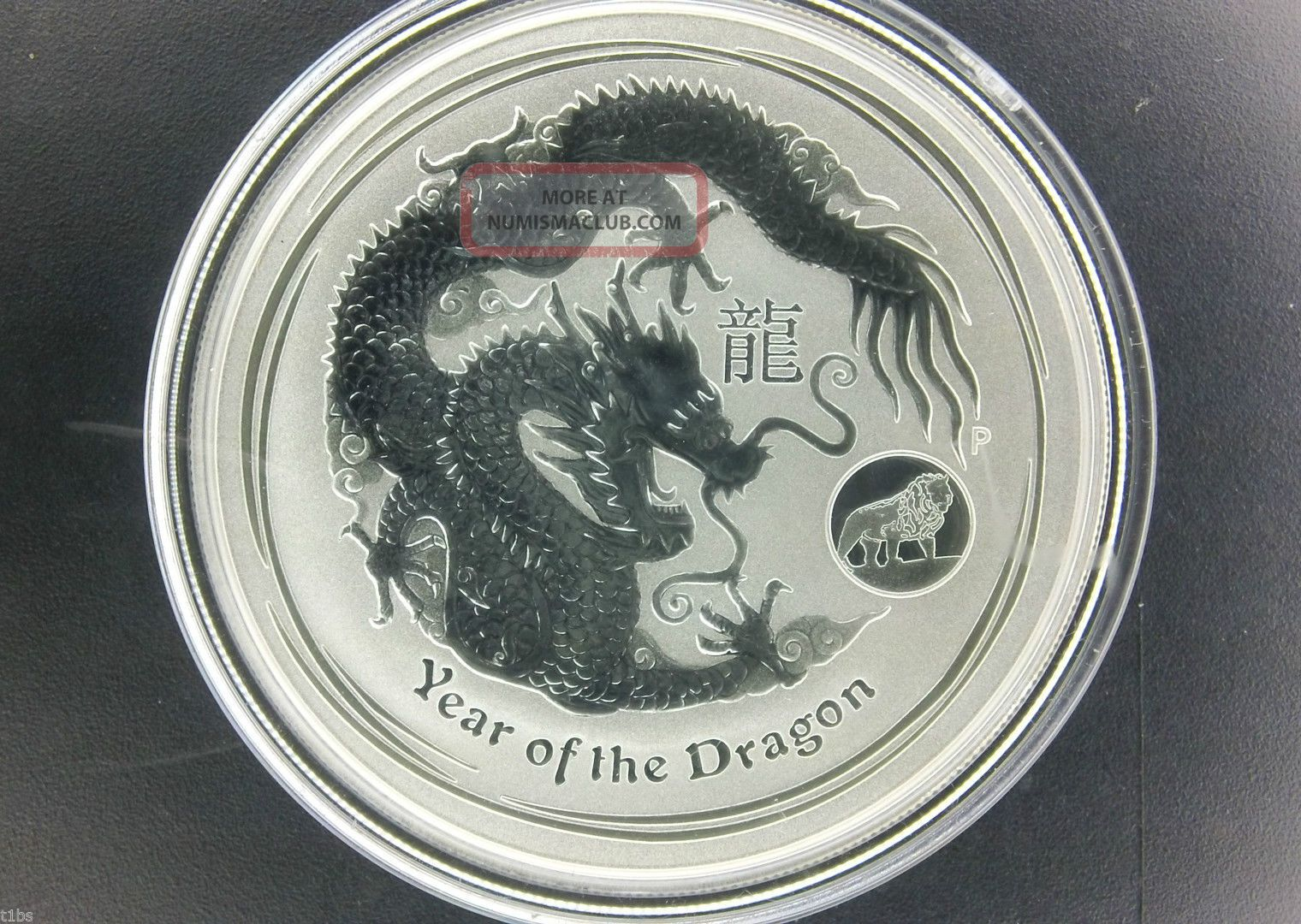 2012 1 Australia Lunar Series Ii Year Of Dragon 1 Oz 999