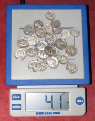 1/4 Pound Junk/cull Silver photo