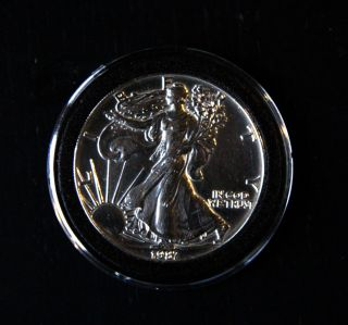 United States Silver Dollar,  1987 Bullion photo