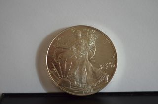 1996 1 Oz Silver American Eagle (uncirculated) photo