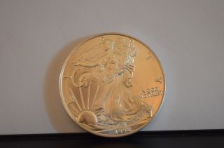 1998 1 Oz Silver American Eagle (uncirculated) photo