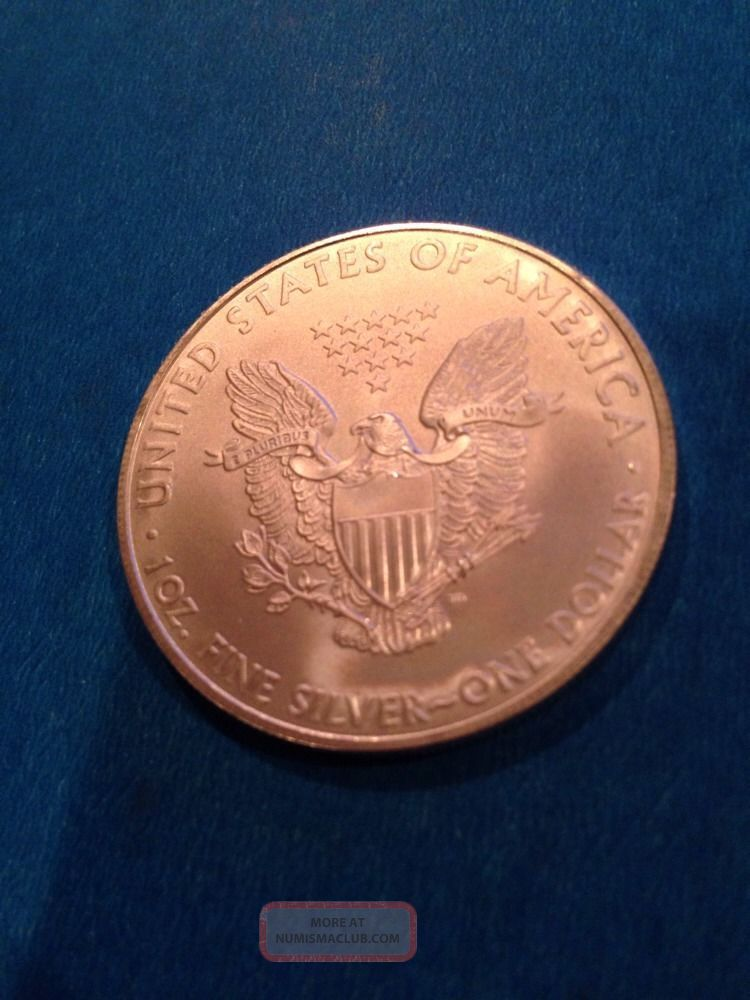 2010 Liberty Standing Silver Dollar 1 Ounce Fine Silver