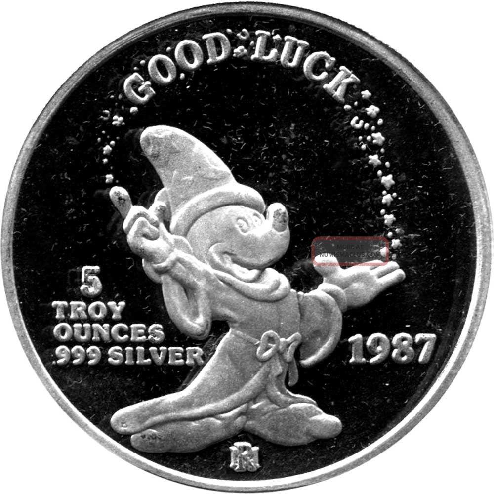 1987 Disney Good Luck Mickey S Magic Rarities Limited