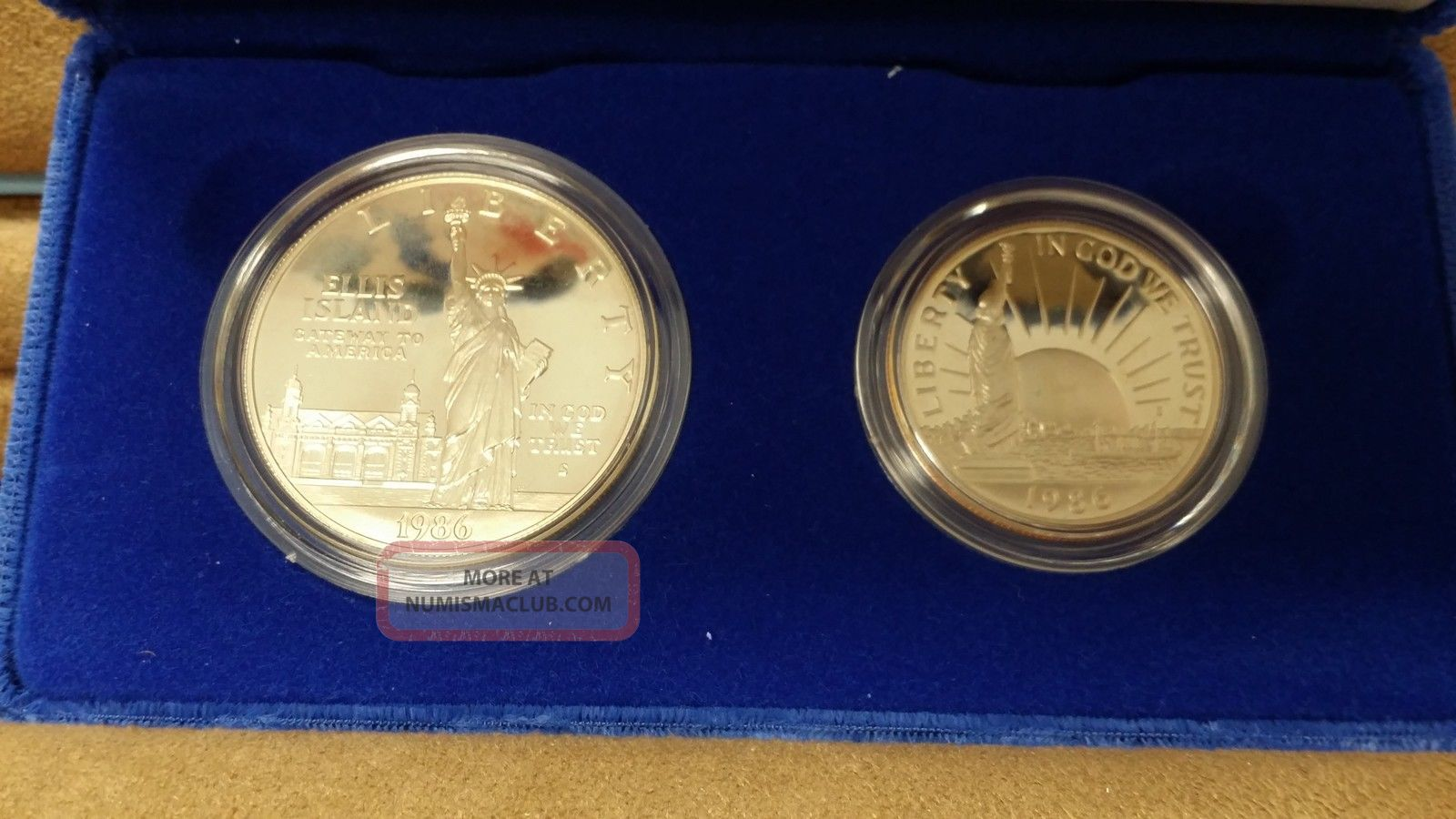 1986 United States Liberty Proof Silver Dollar Amp Proof