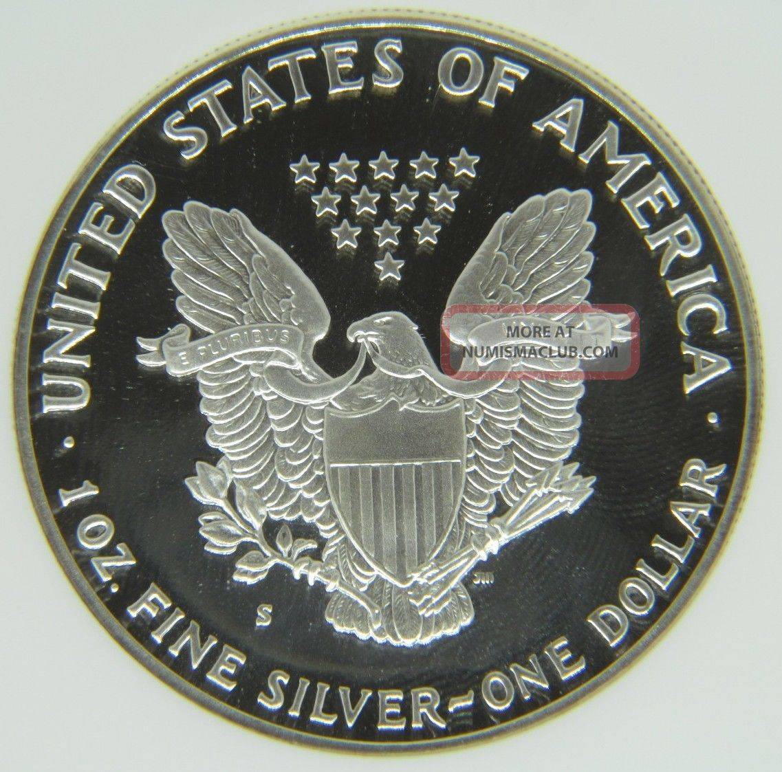 1990 S Proof Silver Eagle Ngc Pf69 Ultra Cameo 1