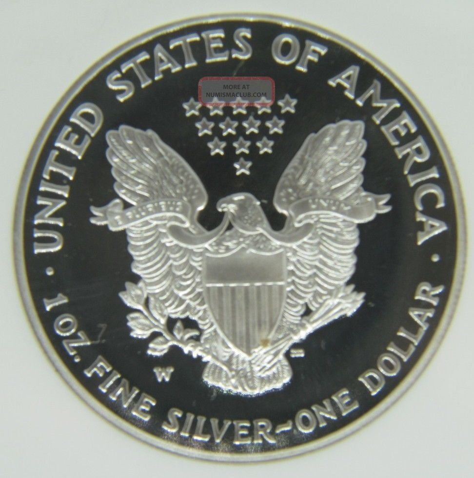 1 Oz Fine Silver One Dollar 1991