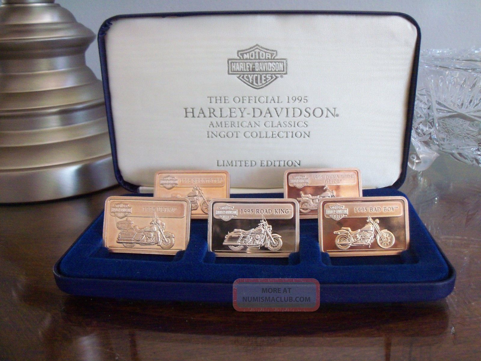 Harley Davidson Collectable 999 Fine Silver Ingots 1141