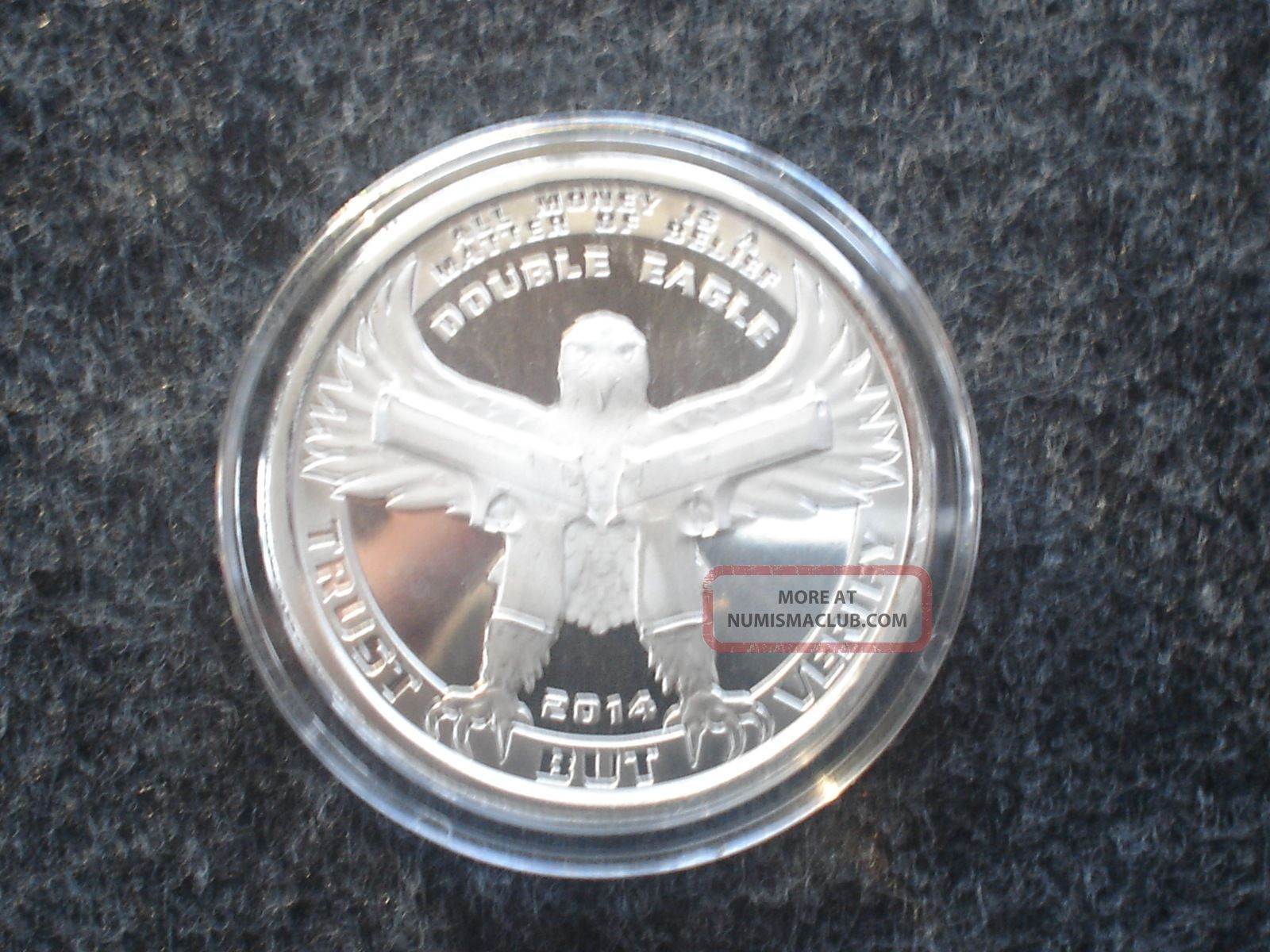1 Oz 999 Fine Silver Double Eagle Proof