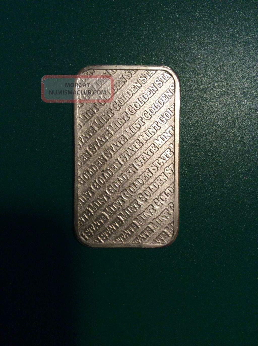 1 Troy Oz Golden State 999 Fine Silver Bar