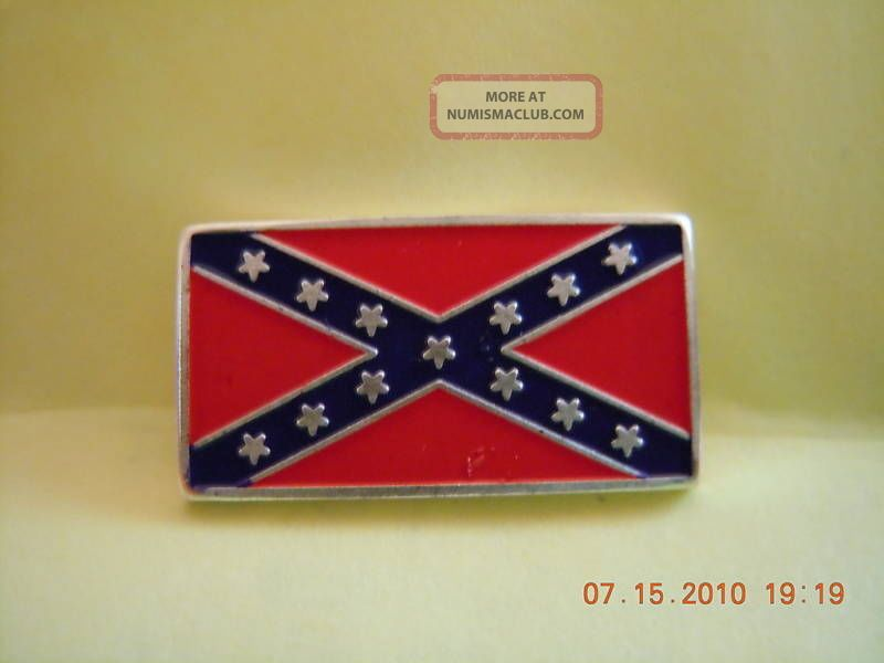 One - 2.  5 Gram 999 Pure Silver Bar/of Confederate Flag Silver photo