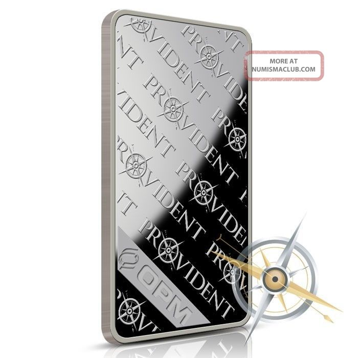 10 Oz Silver Bullion Bar Provident Metals 999 Fine