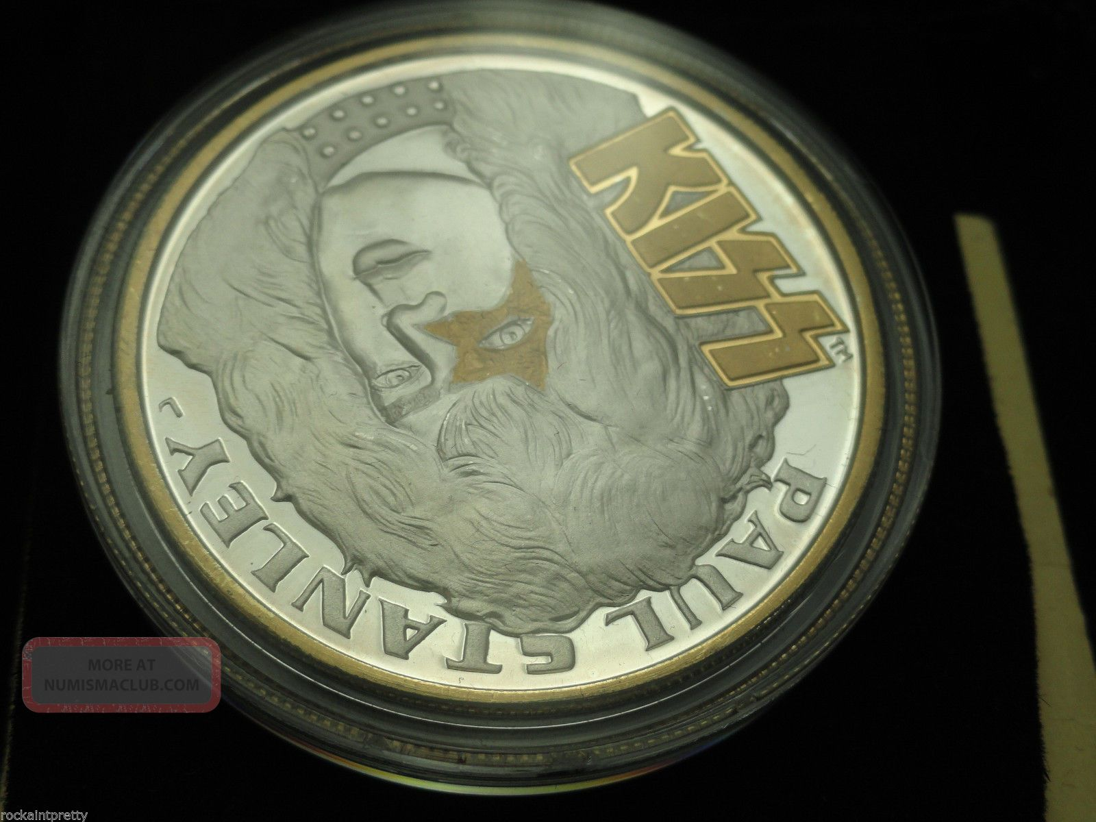 Kiss Coin 1oz 999 Paul Stanley Silver Psycho Circus Tour 1998 1999 C226