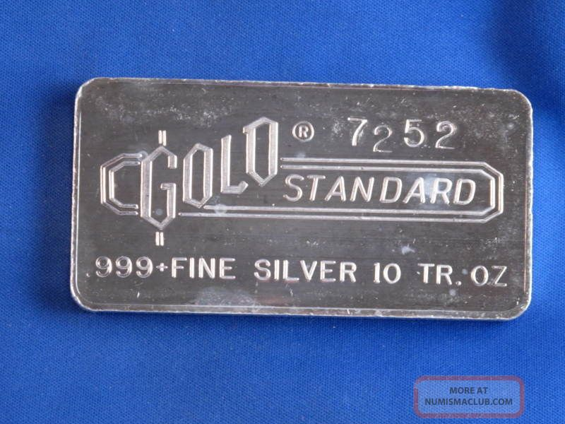 10 Troy Ounces Of Silver Engelhard