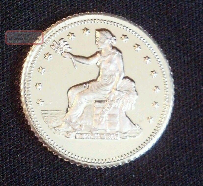 1 Gram.  999 Fine Silver Round. Silver photo