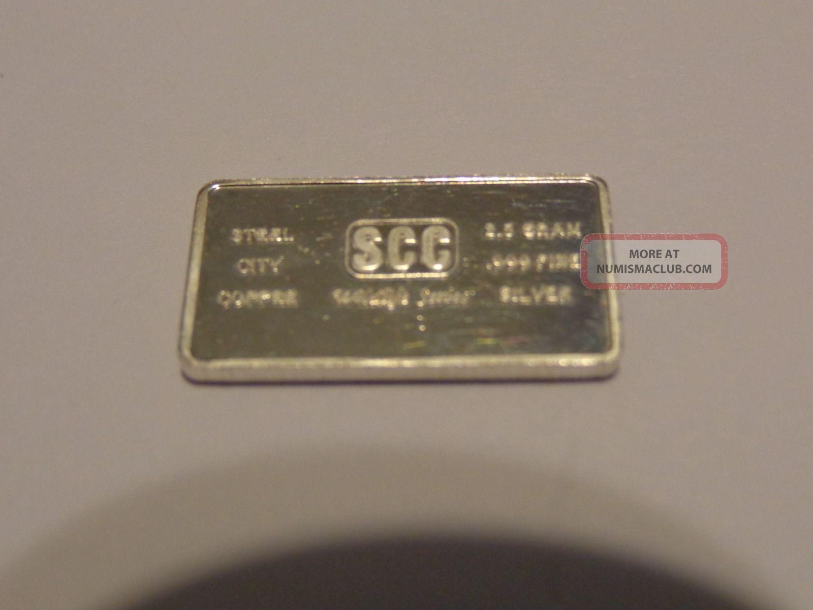 Silver Bullion 2.  5 Gram Bar Silver photo
