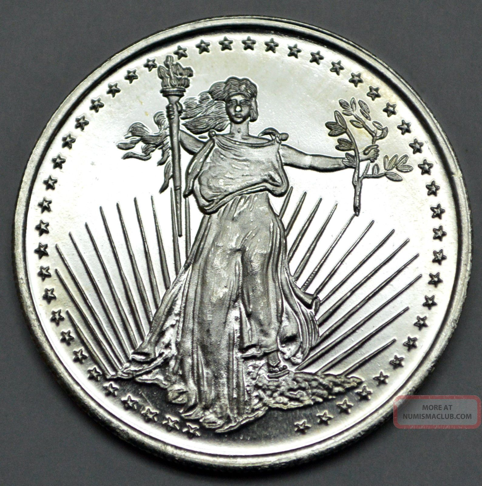 One Ounce 1 Oz 999 Fine Troy Ounce Winchester Indiana