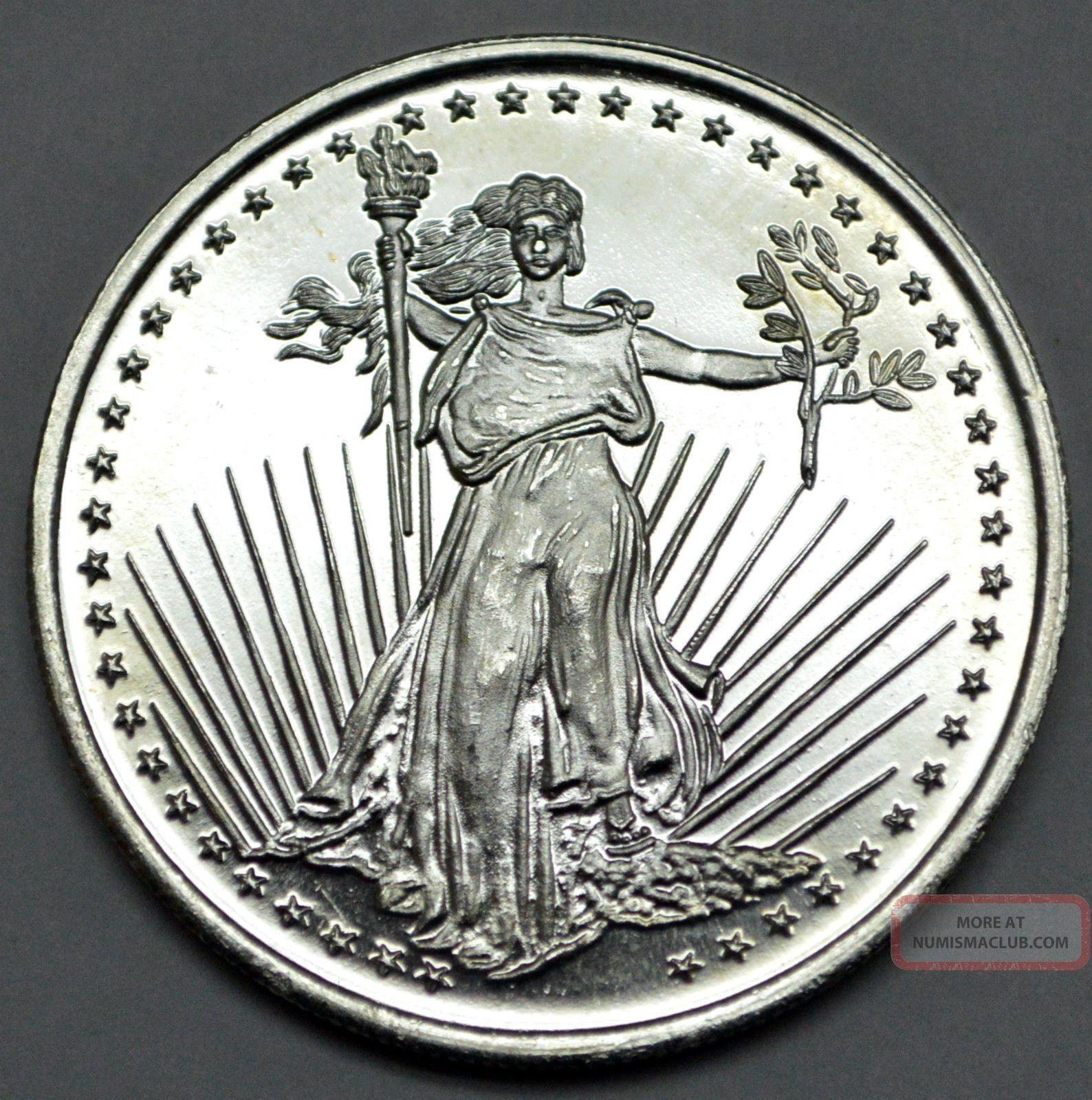1 Troy Ounce Silver