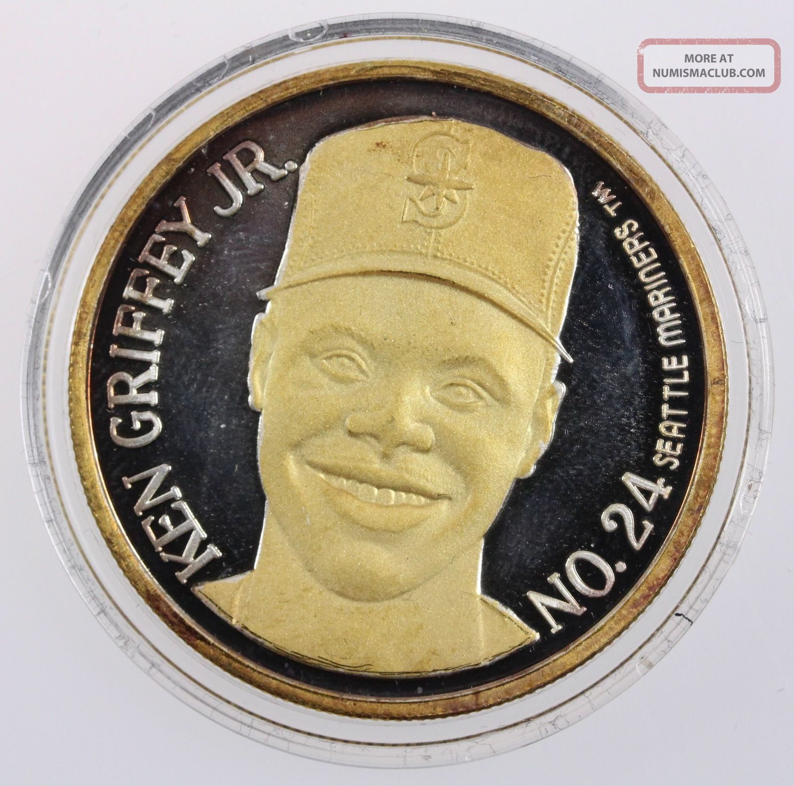 1995 Ken Griffey Jr Quot All Star Game Quot 1oz 999 Silver Round