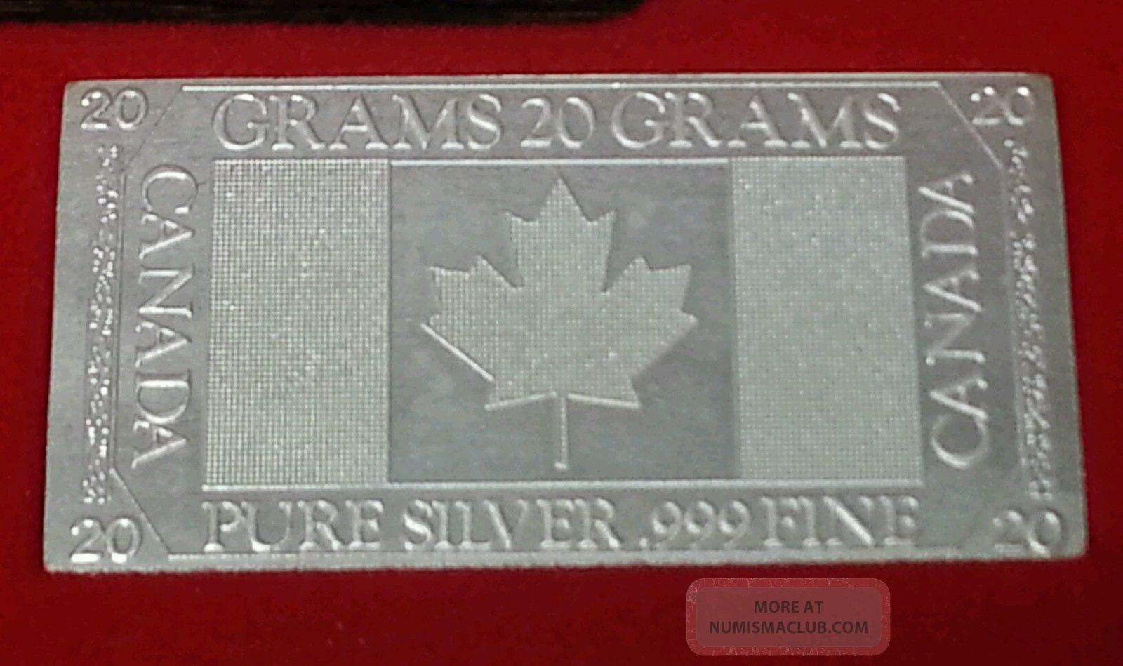 Silver Nations Ingots 999 Pure Silver Total 3 87ozt
