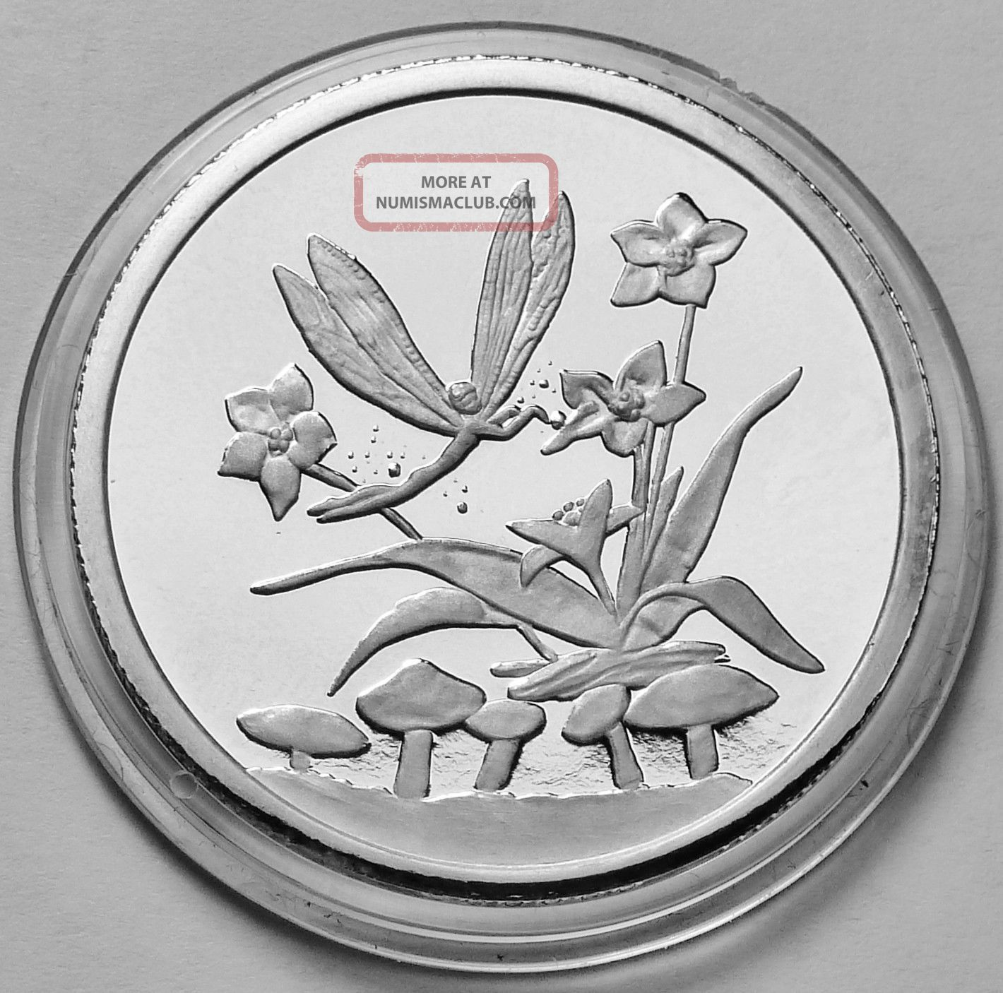 Disney Mickeys Fantasia Fairy Flower Mushroom 1 Troy Oz