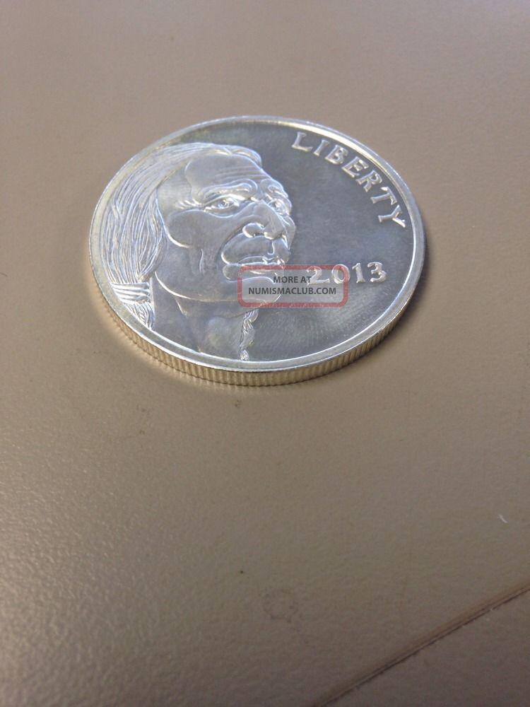 2013 Indian Head Buffalo Style 1 Ounce 999 Fine Pure