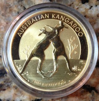 2010 P $100 Australian Gold 1 Oz.  9999 Pure