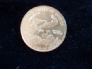 2004 1/2 Troy Oz Gold American Eagle $25 Coin photo