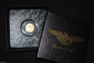 2005 $5 American Gold Eagle 1/10 Oz Coin In Presentation Box photo