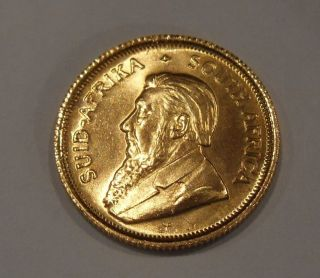 1984 1/10th Oz Gold Krugerrand photo